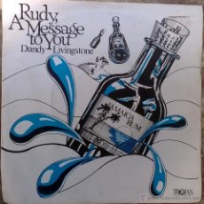Discos de vinilo: DANDY LIVINGSTONE. RUDY, A MESSAGE TO YOU/ TRIBUTE TO THE PRINCE/ BIG CITY/ THINK... TROJAN. UK 1973. Lote 49134566
