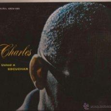 Discos de vinilo: LP-RAY CHARLES INVITA A USTED A ESCUCHAR PHLIPS 595-URUGUAY 196???. Lote 49137188