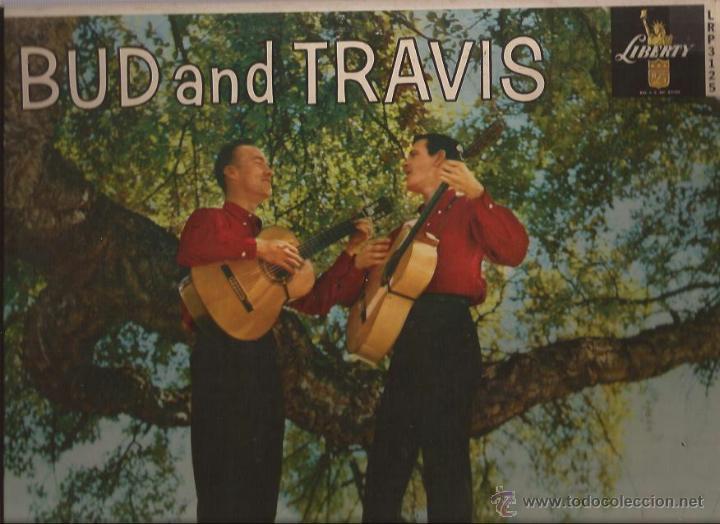 LP-BUD AND TRAVIS LIBERTY 3215-USA 1959-MONO-FOLK (Música - Discos - LP Vinilo - Country y Folk)