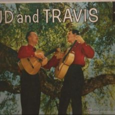 Discos de vinilo: LP-BUD AND TRAVIS LIBERTY 3215-USA 1959-MONO-FOLK. Lote 49137399
