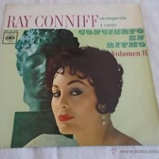 Discos de vinilo: RAY CONNIFF SU ORQUESTA Y COROS CONCIERTO EN RITMO VOL II. Lote 49137428