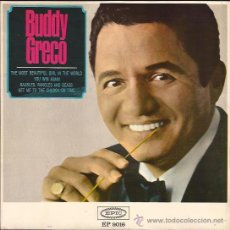 Discos de vinilo: EP-BUDDY GRECO THE MOST BEATIFUL GIRL... EPIC 9016-SPAIN 1965. Lote 49140403