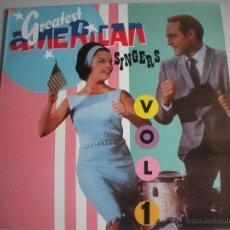 Discos de vinilo: MAGNIFICO LP DE - GRETETS - AMERICAN - SINGERS - VOL- 1-. Lote 49140955