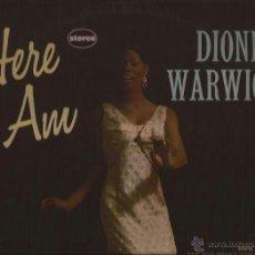 Discos de vinilo: LP-DIONNE WARWICK HERE I AM-SCEPTER 531-USA 196???-STEREO. Lote 49141012