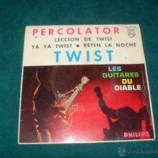Discos de vinilo: PERCOLATOR, TWIST. PHILIPS 1962. EP CON 4 TEMAS. Lote 49147686