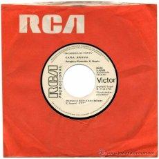 Discos de vinilo: CAÑA BRAVA (ERNESTO DUARTE) – YO VENGO DEL CAMPO – SN PROMO SPAIN 1972 – RCA/VICTOR 3-10702. Lote 49147741