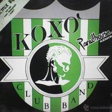 Discos de vinilo: KOXO CLUB BANDPARADHOUSE. Lote 49148930