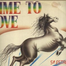 Discos de vinilo: 5ª ESTACIÓN - TIME TO LOVE . Lote 49150591