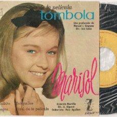 Discos de vinilo: MARISOL - TOMBOLA (EP ZAFIRO 1962 SPAIN). Lote 49154326