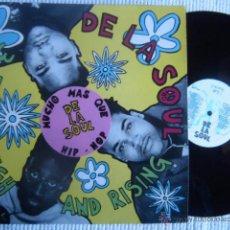 Discos de vinilo: DE LA SOUL - '' 3 FEET HIGH AND RISING '' LP + INNER ORIGINAL SPAIN. Lote 49157969