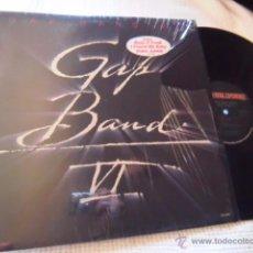 Discos de vinilo: GAP BAND - '' GAP BAND VI '' LP ORIGINAL USA. Lote 49158011