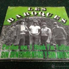 Discos de vinilo: LES BAROQUES EPS. Lote 49158124