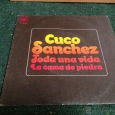 Discos de vinilo: CUCO SANCHEZ EPS TODA UNA VIDA. Lote 49158133