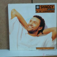 Dischi in vinile: SHAGGY FEATURING RAYVON - IN THE SUMMERTIME / IT NO MATTER - VIRGIN VS 1452 - 1995 - CON POSTER. Lote 49158963