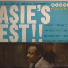 Discos de vinilo: LP-BASIE´S BEST COUNT BASIE-HARMONY 7229-USA 1959-JAZZ-40´S RECORDINGS . Lote 49161599