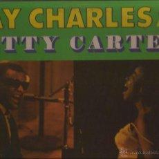 Discos de vinilo: LP-RAY CHARLES & BETTY CARTER-ABC PAR.385-USA 1961. Lote 49161667