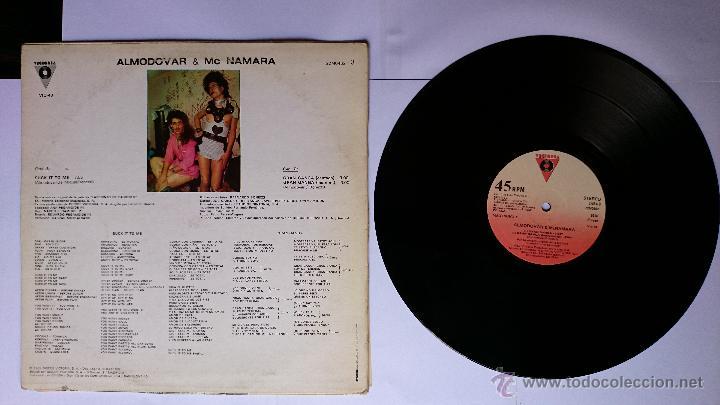Discos de vinilo: ALMODOVAR & McNAMARA (Mc Namara) - SUCK IT TO ME / GRAN GANGA / GRAN GANGA (INSTRUMENTAL) (1982) - Foto 2 - 49166826