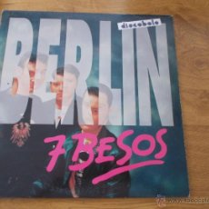 Discos de vinilo: BERLIN 7 BESOS.. Lote 49166935