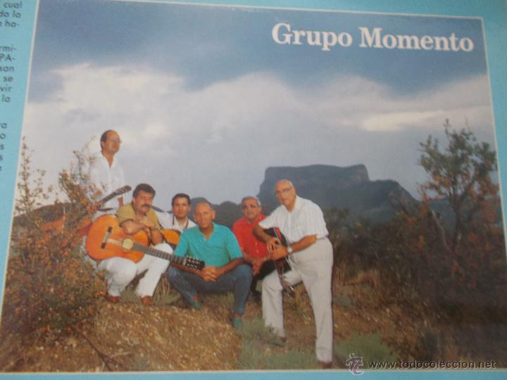 Discos de vinilo: GRUPO MOMENTO. DOS PALOMAS. GRUPO DE ELDA Y PETRER. - Foto 3 - 49167001