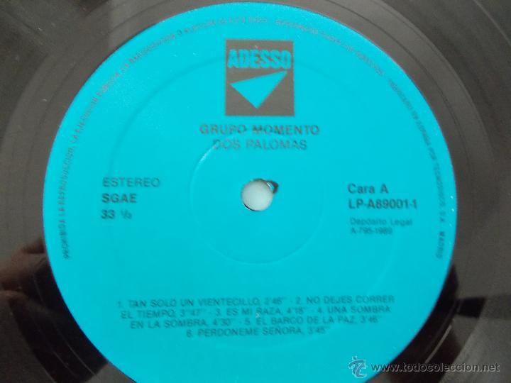 Discos de vinilo: GRUPO MOMENTO. DOS PALOMAS. GRUPO DE ELDA Y PETRER. - Foto 7 - 49167001