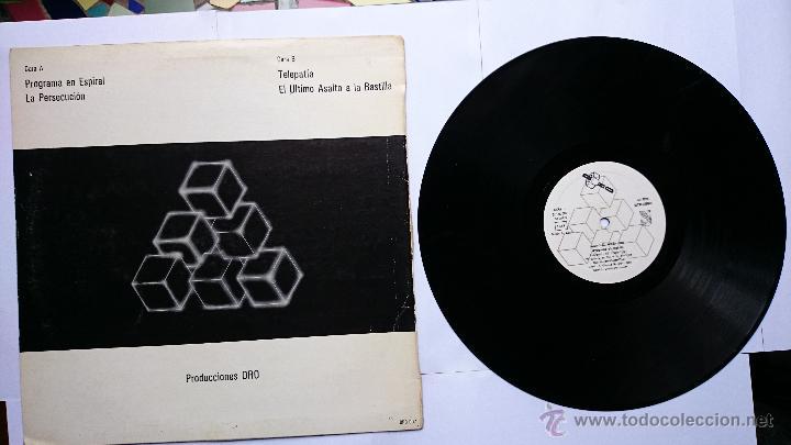 Discos de vinilo: AVIADOR DRO - PROGRAMA EN ESPIRAL / LA PERSECUCION / TELEPATIA / EL ULTIMO ASALTO... (1982) - Foto 2 - 49167751