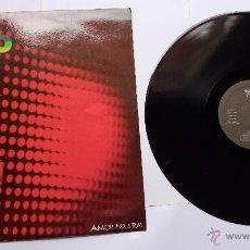 Discos de vinilo: AVIADOR DRO - AMOR INDUSTRIAL / ARQUITECTO ACERO / ENVASADOS AL VACIO (1983). Lote 49167900
