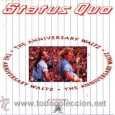 Discos de vinilo: SATUS QUO - THE ANIVERSARY WALTZ. Lote 53308661
