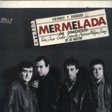 Discos de vinilo: MERMELADA - RECOMENDABLE . Lote 49175539