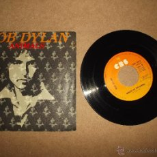 Discos de vinilo: BOB DYLAN ANIMALS SINGLE. Lote 49180464