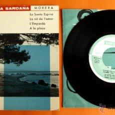 Discos de vinilo: DISCO DE VINILO - ANTOLOGIA DE LA SARDANA - MORERA 1865, 1942 - DISCOS VERGARA - . Lote 49180554