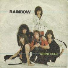 Discos de vinilo: RAINBOW -STONE COLD- SINGLE VINILO ENVIO GRATUITO. Lote 49181892