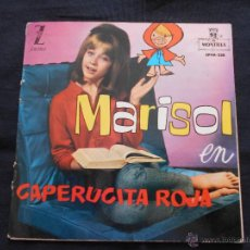 Discos de vinilo: MARISOL EN CAPERUCITA ROJA - CONTIENE COMIC. Lote 49182306