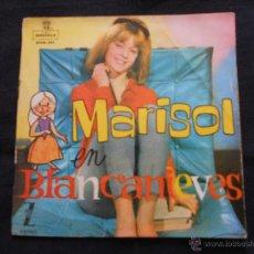 Discos de vinilo: MARISOL EN BLANCANIEVES - CONTIENE COMIC. Lote 49182366