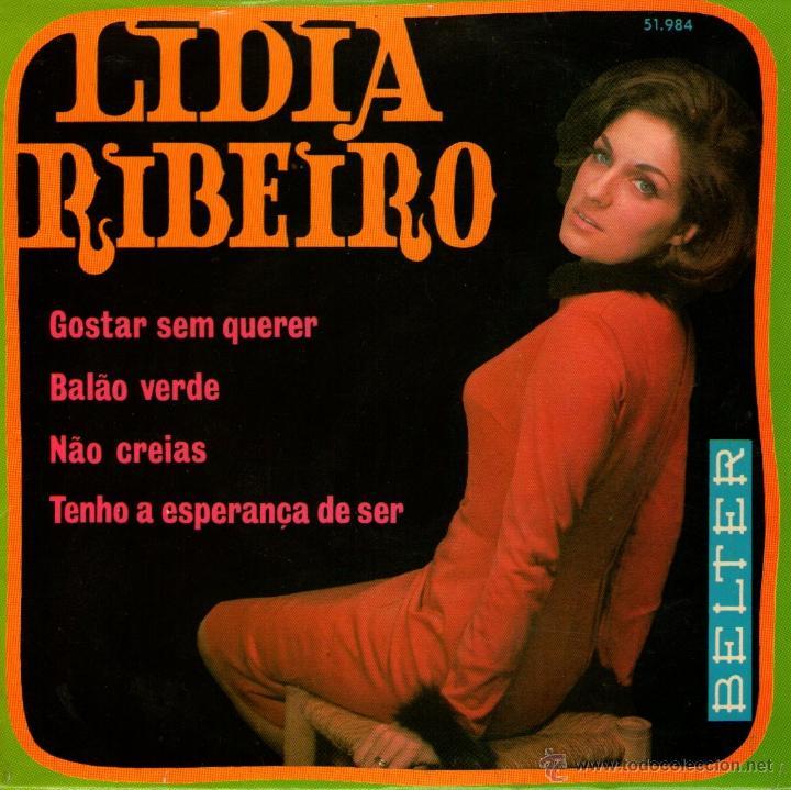LIDIA RIBEIRO - EP SINGLE VINILO 7'' - EDITADO EN ESPAÑA - GOSTAR SEM QUERER + 3 - BELTER 1970 (Música - Discos de Vinilo - EPs - Étnicas y Músicas del Mundo)