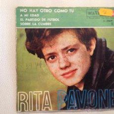 Discos de vinilo: RITA PAVONE - EP ESPAÑA 1963. Lote 49196205