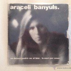 Discos de vinilo: ARACELI BANYULS - ULTRA RARO SINGLE BOA 1975 - VOCAL JAZZ, PROGRESIVO, FOLK. Lote 49196658