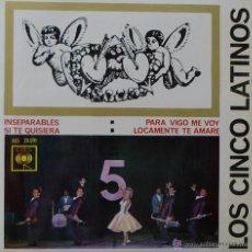 Discos de vinilo: LOS CINCO LATINOS INSEPARABLES - EP. Lote 49202163