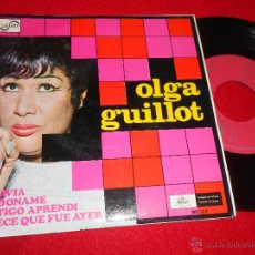 Discos de vinilo: OLGA GUILLOT TODAVIA/PERDONAME/CONTIGO APRENDI/PARECE QUE FUE AYER EP 1968 ZAFIRO ESPAÑA SPAIN. Lote 49204484