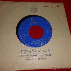 Discos de vinilo: WILL BILL DAVIS A BAILAR EL MADISON/SOLTANDO AMARRAS/VIENTO ACARICIADOR +1 EP 1962 HISPAVOX PROMO. Lote 49204553