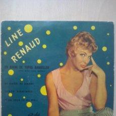 Discos de vinilo: LINE RENAUD - ITSI BITSI , PETIT BIKINI +3 - EP PATHE 1960. Lote 50994753