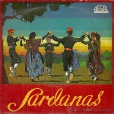Discos de vinilo: COBLA LA PRINCIPAL DE LA BISBAL EP SELLO REGAL AÑO 1956 SARDANAS. Lote 49212989