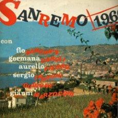 Disques de vinyle: RAN REMO 1960. Lote 49214780