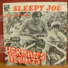 Discos de vinilo: HERMAN`S HERMITS - SLEEPY JOE / EMI 1968. Lote 49215161