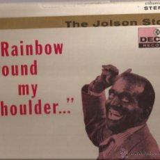Discos de vinilo: LP-AL JOLSON RAINBOW ROUND MY SHOULDER DECCA 79036-USA 1957. Lote 49218986