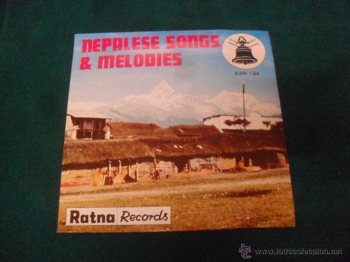NEPALESE SONGS & MELODIES. RATNA RECORDS 1978, MADE IN JAPAN, ESR 134 (Música - Discos de Vinilo - EPs - Otros estilos)