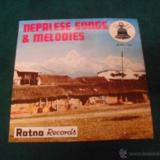 Discos de vinilo: NEPALESE SONGS & MELODIES. RATNA RECORDS 1978, MADE IN JAPAN, ESR 134. Lote 49220863