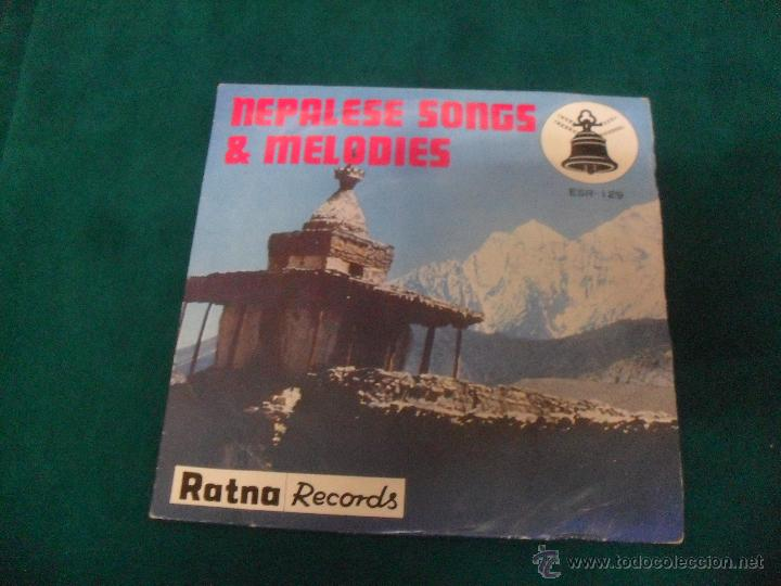 NEPALESE SONGS & MELODIES. RATNA RECORDS 1978, MADE IN JAPAN, ESR 129 (Música - Discos de Vinilo - EPs - Otros estilos)