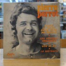 Discos de vinilo: PIERRE PERRET - QUAND LE SOLEIL ENTRE DANS MA MAISON - + 3 - EP. Lote 49221280