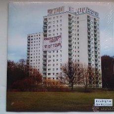 Discos de vinilo: SCHOOL OF ZUVERSICHT - RANDNOTIZEN FROM IDIOT TOWN - LP - 2010. Lote 49223595
