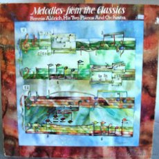 Discos de vinilo: RONNIE ALDRICH AND HIS TWO PIANOS - MELODIES FROM THE CLASSICS (DECCA - SP 44300). Lote 49226466